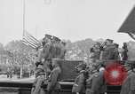 Image of American flag Joinville Le Pont France, 1919, second 8 stock footage video 65675051378