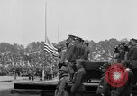 Image of American flag Joinville Le Pont France, 1919, second 14 stock footage video 65675051378