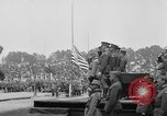 Image of American flag Joinville Le Pont France, 1919, second 15 stock footage video 65675051378