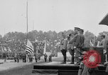 Image of American flag Joinville Le Pont France, 1919, second 28 stock footage video 65675051378