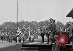 Image of American flag Joinville Le Pont France, 1919, second 29 stock footage video 65675051378