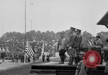 Image of American flag Joinville Le Pont France, 1919, second 30 stock footage video 65675051378