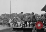 Image of American flag Joinville Le Pont France, 1919, second 32 stock footage video 65675051378
