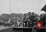Image of American flag Joinville Le Pont France, 1919, second 39 stock footage video 65675051378