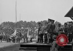 Image of American flag Joinville Le Pont France, 1919, second 40 stock footage video 65675051378