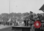 Image of American flag Joinville Le Pont France, 1919, second 42 stock footage video 65675051378