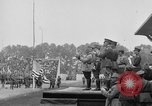 Image of American flag Joinville Le Pont France, 1919, second 47 stock footage video 65675051378