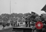 Image of American flag Joinville Le Pont France, 1919, second 50 stock footage video 65675051378