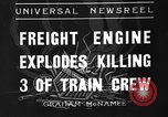 Image of engine explodes Alexander New York USA, 1936, second 1 stock footage video 65675051382
