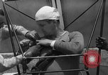 Image of early hang glider flight attempt Palos Verdes California USA, 1936, second 11 stock footage video 65675051384
