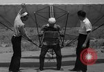 Image of early hang glider flight attempt Palos Verdes California USA, 1936, second 14 stock footage video 65675051384
