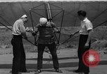 Image of early hang glider flight attempt Palos Verdes California USA, 1936, second 15 stock footage video 65675051384