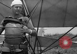 Image of early hang glider flight attempt Palos Verdes California USA, 1936, second 19 stock footage video 65675051384