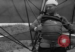 Image of early hang glider flight attempt Palos Verdes California USA, 1936, second 28 stock footage video 65675051384