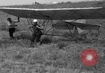 Image of early hang glider flight attempt Palos Verdes California USA, 1936, second 35 stock footage video 65675051384
