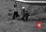 Image of early hang glider flight attempt Palos Verdes California USA, 1936, second 37 stock footage video 65675051384