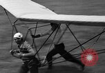 Image of early hang glider flight attempt Palos Verdes California USA, 1936, second 39 stock footage video 65675051384
