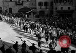 Image of Saracen tilting Arezzo Italy, 1936, second 19 stock footage video 65675051391
