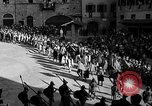 Image of Saracen tilting Arezzo Italy, 1936, second 20 stock footage video 65675051391