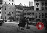 Image of Saracen tilting Arezzo Italy, 1936, second 32 stock footage video 65675051391