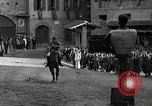Image of Saracen tilting Arezzo Italy, 1936, second 50 stock footage video 65675051391