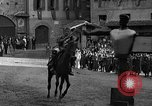 Image of Saracen tilting Arezzo Italy, 1936, second 51 stock footage video 65675051391