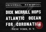 Image of Dick Merrill New York United States USA, 1937, second 4 stock footage video 65675051403