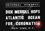 Image of Dick Merrill New York United States USA, 1937, second 6 stock footage video 65675051403