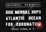 Image of Dick Merrill New York United States USA, 1937, second 7 stock footage video 65675051403