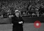 Image of Opening day double-A International Baseball League Toronto Ontario Canada, 1937, second 34 stock footage video 65675051406