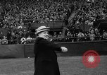 Image of Opening day double-A International Baseball League Toronto Ontario Canada, 1937, second 35 stock footage video 65675051406