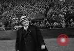 Image of Opening day double-A International Baseball League Toronto Ontario Canada, 1937, second 36 stock footage video 65675051406
