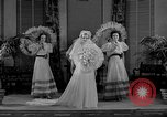 Image of fashion show Chicago Illinois USA, 1937, second 14 stock footage video 65675051413