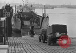 Image of American half tracks Normandy France, 1944, second 16 stock footage video 65675051424