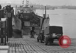 Image of American half tracks Normandy France, 1944, second 18 stock footage video 65675051424