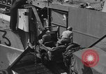 Image of American half tracks Normandy France, 1944, second 26 stock footage video 65675051424