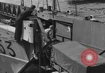 Image of American half tracks Normandy France, 1944, second 29 stock footage video 65675051424