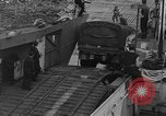 Image of American half tracks Normandy France, 1944, second 32 stock footage video 65675051424