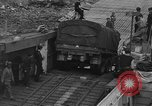 Image of American half tracks Normandy France, 1944, second 36 stock footage video 65675051424