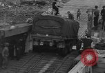 Image of American half tracks Normandy France, 1944, second 38 stock footage video 65675051424