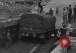 Image of American half tracks Normandy France, 1944, second 39 stock footage video 65675051424