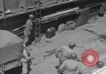 Image of American half tracks Normandy France, 1944, second 49 stock footage video 65675051424