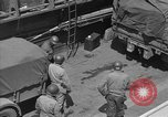 Image of American half tracks Normandy France, 1944, second 52 stock footage video 65675051424