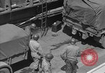 Image of American half tracks Normandy France, 1944, second 54 stock footage video 65675051424