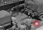 Image of American half tracks Normandy France, 1944, second 55 stock footage video 65675051424