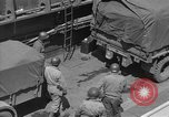 Image of American half tracks Normandy France, 1944, second 56 stock footage video 65675051424