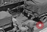 Image of American half tracks Normandy France, 1944, second 57 stock footage video 65675051424