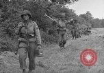 Image of American soldiers Cherbourg Normandy France, 1944, second 4 stock footage video 65675051430