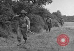 Image of American soldiers Cherbourg Normandy France, 1944, second 16 stock footage video 65675051430