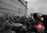 Image of American soldiers arriving in England during World War 2 United Kingdom, 1944, second 36 stock footage video 65675051438
